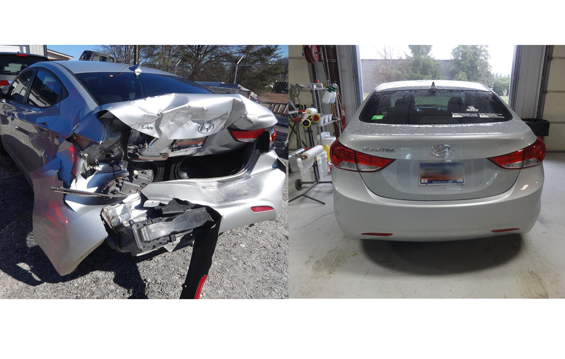Minor Collision Repair Premier Car Restoration